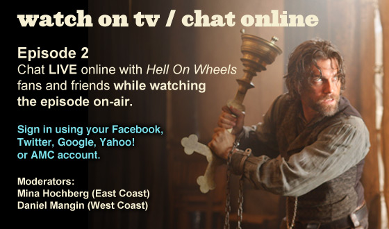 Chat Online While Watching Episode 2 on TV This Sunday Night