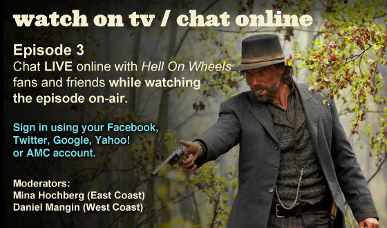 Chat Online While Watching Episode 3 on TV This Sunday Night