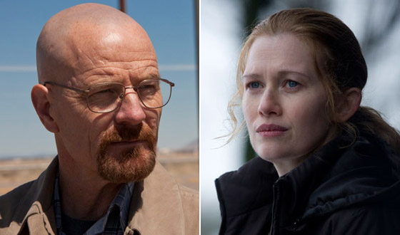 <em>Breaking Bad</em> and <em>The Killing</em> Each Receive a Golden Globe Nomination