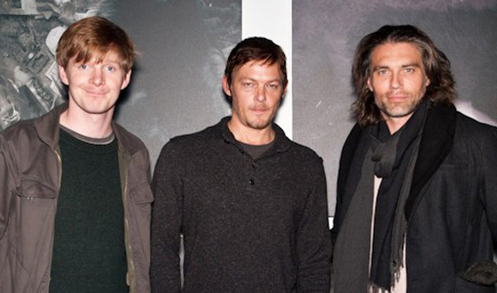 Anson Mount and Ben Esler Attend <em>The Walking Dead</em> Star Norman Reedus&#8217; Charity Exhibition