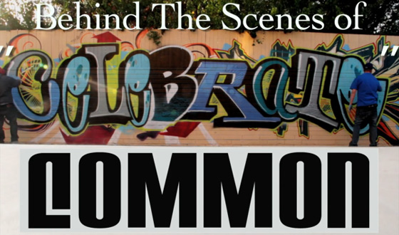 "Video – Behind the Scenes of Common's New Music Video, ""Celebrate"""