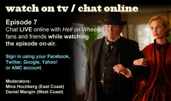 Chat Online While Watching Episode 7 on TV This Sunday Night