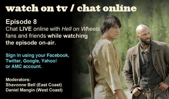 Chat Online While Watching Episode 8 on TV This Sunday Night
