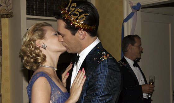 Happy New Year! <em>Mad Men</em>'s Most Memorable Kisses