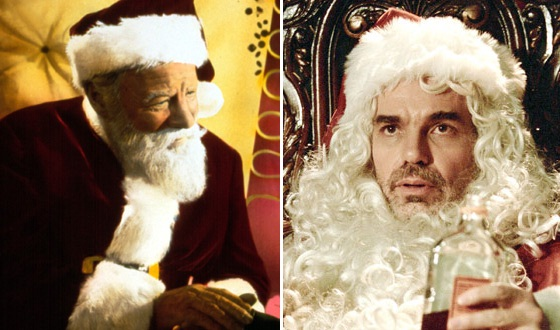 Is Your Ideal Movie Santa Naughty Like Billy Bob Thornton or Nice Like Edmund Gwenn?