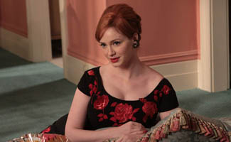 Christina Hendricks Insists She's Not Like Joan; Matthew Weiner Talks About the Show's Genesis