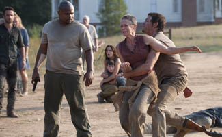 Kirkman Teases Season 2 With Em Tv Guide Midseason