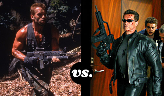 Will John Matrix Take Down The Terminator in This Arnold Schwarzenegger Tournament?