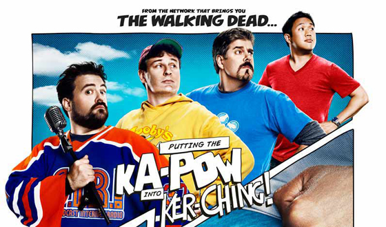 Poster Revealed for AMC's New Series <em>Comic Book Men</em>