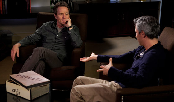 Video &#8211; Sneak Peek of Bryan Cranston&#8217;s Appearance on <em>The Mortified Sessions</em>