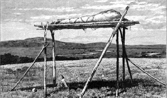 Hell on Wheels Handbook – Cheyenne Tree Burial