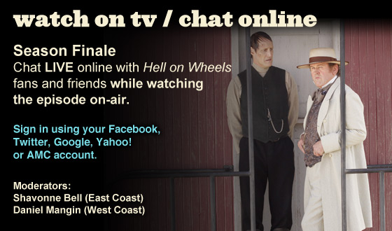 Chat Online While Watching the Season Finale on TV This Sunday Night