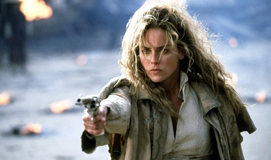 Could Sharon Stone Really Compete With the Duke or Eastwood in a Shoot-Out?