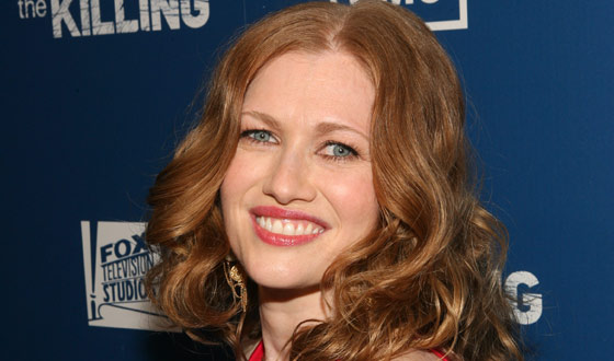 Mireille Enos Walks Golden Globes Red Carpet, Talks Season 2 with <em>TVLine</em>, <em>MTV</em>