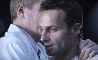 David Letterman Parodies <em>The Walking Dead</em>; Andrew Lincoln Still Mum on Jenner&#8217;s Secret
