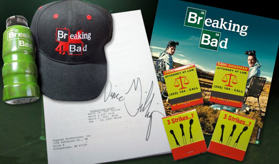 <em>Breaking Bad</em> Contributes Items for Auction to Benefit the Leukemia and Lymphoma Society