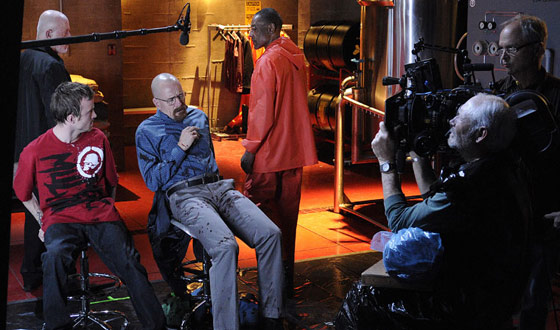 Photos &#8211; Behind the Scenes of <em>Breaking Bad</em> Season 4