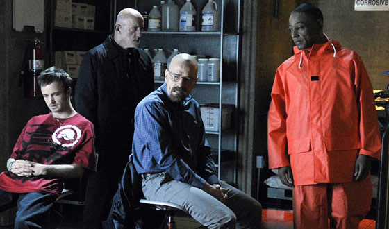 <em>Breaking Bad</em> Wins Big at WGA Awards, Picking Up Two Top Prizes for Dramatic Writing