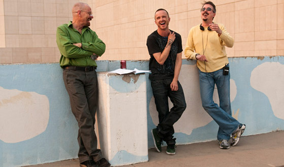 <em>Breaking Bad</em> Season 4 Interviews With Vince Gilligan and A Couple Members of the Crew