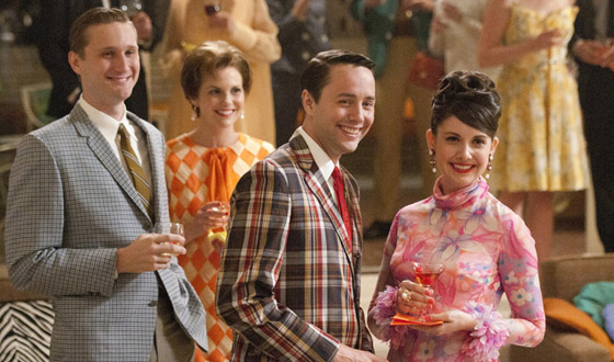 <em>Newsweek</em> Issue Is Homage to <em>Mad Men</em>; <em>EW</em> and <em>Rolling Stone</em> Laud Season 5 Premiere