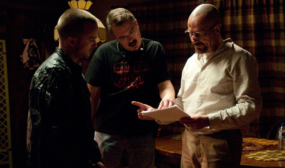 Photos &#8211; Behind the Scenes of <em>Breaking Bad</em> Season 4, Part 3