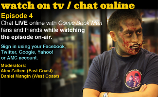 Chat Online While Watching Episode 4 of <em>Comic Book Men</em> This Sunday Night