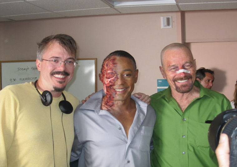 Breaking Bad - Breaking Bad Season 4 Behind the Scenes Photos - AMC