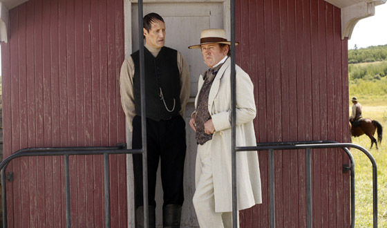 <em>Hell on Wheels</em> Hailed in Season 1 DVD Preview; Colm Meaney Praised for Tribeca Film Fest Role