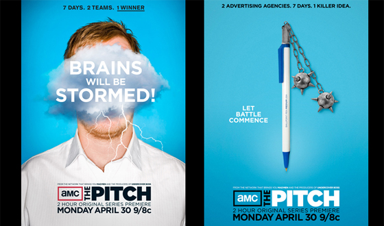 The Pitch Behind <em>The Pitch</em> – See the Ideas and the Art Created to Promote AMC's New Series