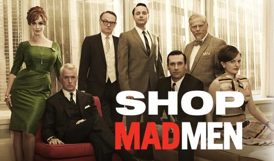 The <em>Mad Men</em> Shop &#8211; Your Source for Swag