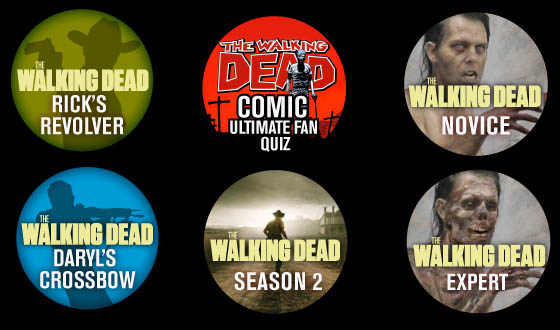 You Think You're the Ultimate <em>The Walking Dead</em> Fan… Which Badges Have You Earned?