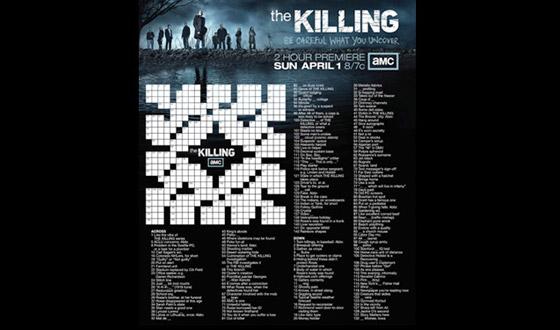 Two <em>New York Times</em> Crossword Puzzles for <em>The Killing</em> Now Available on AMCtv.com