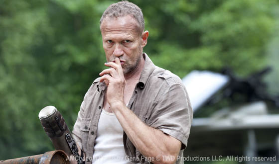 Photo &#8211; Merle Dixon Returns in <em>The Walking Dead</em> Season 3