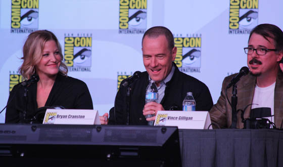 Comic-Con Breaks <em>Bad</em> With a Packed Panel and Extended Season 5 Trailer