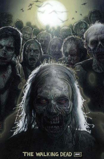 Season 1 Poster by Drew Struzan for The Walking Dead