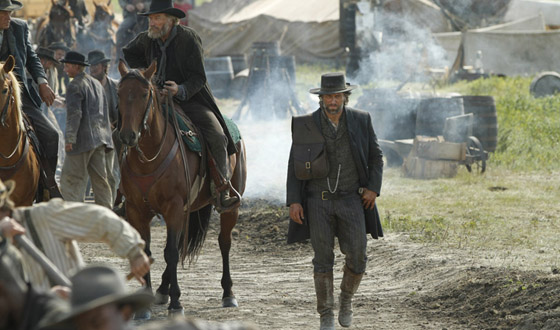 <i>E! Online</i> Loves Season 2 Poster; Anson Mount Called Formidable Presence in <i>Hell on Wheels</i>