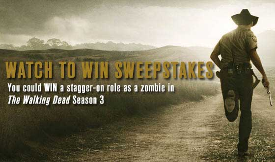 You Could Win a Stagger-On Role by Watching <em>Talking Dead</em> This Sunday Night