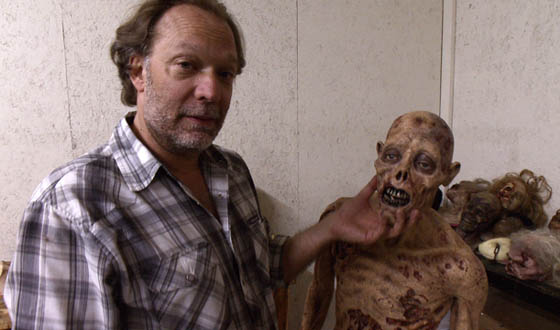 Video – Inside Special Make-Up FX Designer Greg Nicotero's Studio