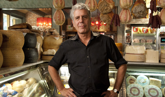 "Anthony Bourdain to Host AMC's Second Annual ""Mob Week"" Starting Mon., Jul. 30"