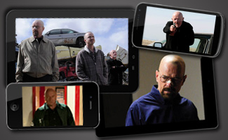 Now on Android, iPhone, iPad and Kindle Fire &#8211; <em>Breaking Bad</em> Season 5 Premiere Episode