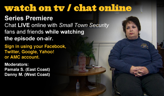 Chat Online About the <em>Small Town Security</em> Series Premiere This Sunday Night