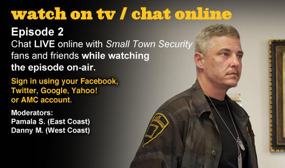 Chat Online About <em>Small Town Security</em> Episode 2 This Sunday Night