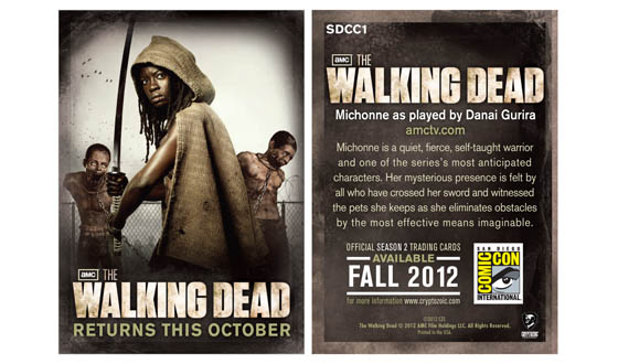 Comic-Con Attendees Dressed as Zombies Will Get Exclusive <em>The Walking Dead</em> Trading Card