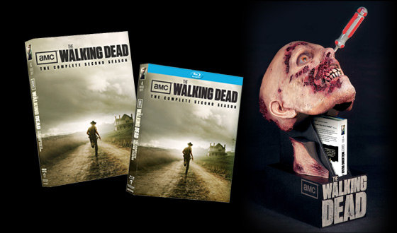 <em>The Walking Dead</em> &#8211; The Complete Second Season Arrives on DVD and Blu Ray August 28
