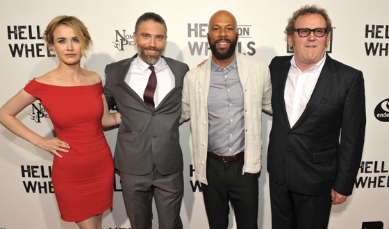 Red Carpet Photos From the <em>Hell on Wheels</em> Season 2 Premiere