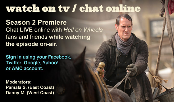 Chat Online While Watching the Season 2 Premiere on TV This Sunday Night