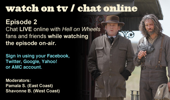 Chat Online While Watching Season 2 Episode 2 on TV This Sunday Night
