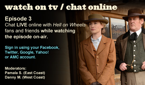 Chat Online While Watching Season 2 Episode 3 on TV This Sunday Night