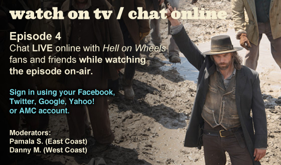 Chat Online While Watching Season 2 Episode 4 on TV This Sunday Night