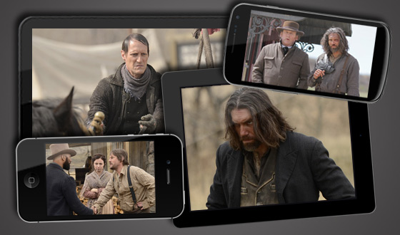 Now on Android, iPhone, iPad and Kindle Fire – <em>Hell on Wheels</em> Season 2 Premiere Episode